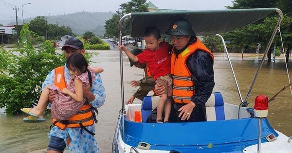 Thủ tướng yêu cầu tập trung đối phó với mưa lũ lớn tại các tỉnh miền Trung