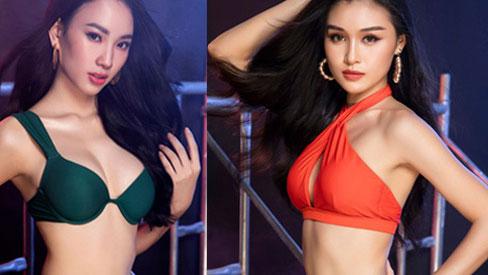 Top thí sinh xuất sắc của Hoa hậu Việt Nam 2020 khoe sắc cùng thân hình gợi cảm khó cưỡng trong trang phục bikini