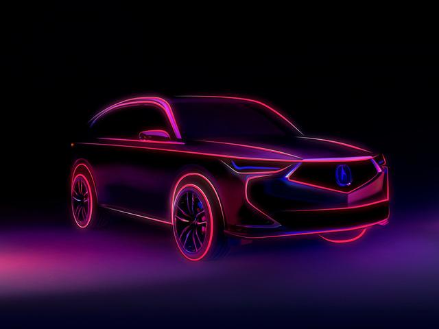 Xem trước nội thất Acura MDX thế hệ mới: Sang không kém xe Đức-7