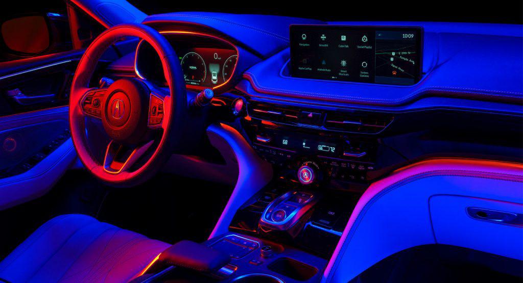 Xem trước nội thất Acura MDX thế hệ mới: Sang không kém xe Đức-1