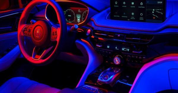 Xem trước nội thất Acura MDX thế hệ mới: Sang không kém xe Đức
