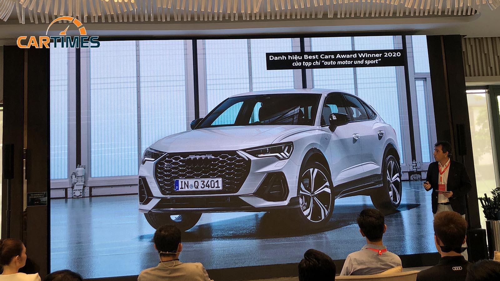Audi Q3 Sportback ra mắt tại Việt Nam, giá bán khiến nhiều người tò mò -3