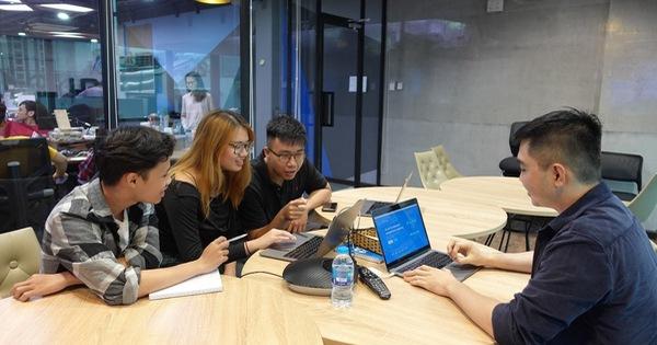 Du học sinh Mỹ thực tập tại công ty công nghệ tại Việt Nam