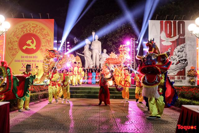 Tái hiện Hào khí Thăng Long trên phố đi bộ với chương trình nghệ thuật đặc biệt kỷ niệm 1010 năm Thăng Long - Hà Nội-12