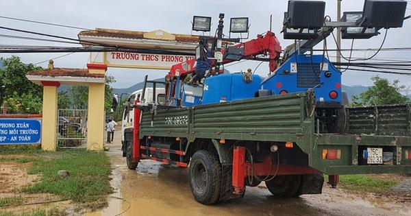 Điều động trực thăng cứu hộ 30 người mất tích tại thủy điện Rào Trăng 3