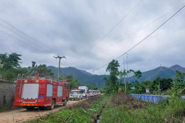 Ảnh: Cảnh tan hoang nơi đoàn cứu hộ thuỷ điện Rào Trăng 3 gặp nạn-8