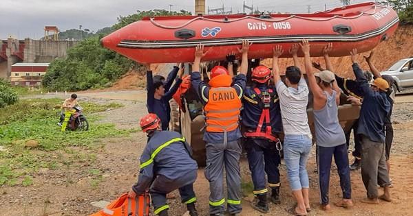 Bộ Công an điều thêm quân hỗ trợ cứu hộ tại thủy điện Rào Trăng 3