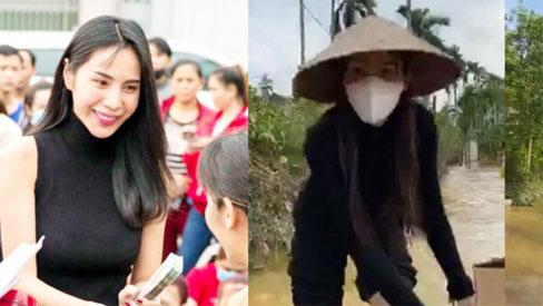 Trên đường về Sài Gòn nhưng Thủy Tiên bất ngờ quyết định