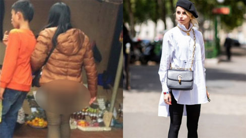 Trời lạnh là dân tình lại nhức nhối với kiểu ăn mặc của một vài chị em: Vô tư diện legging hớ hênh khiến người nhìn ngán ngẩm