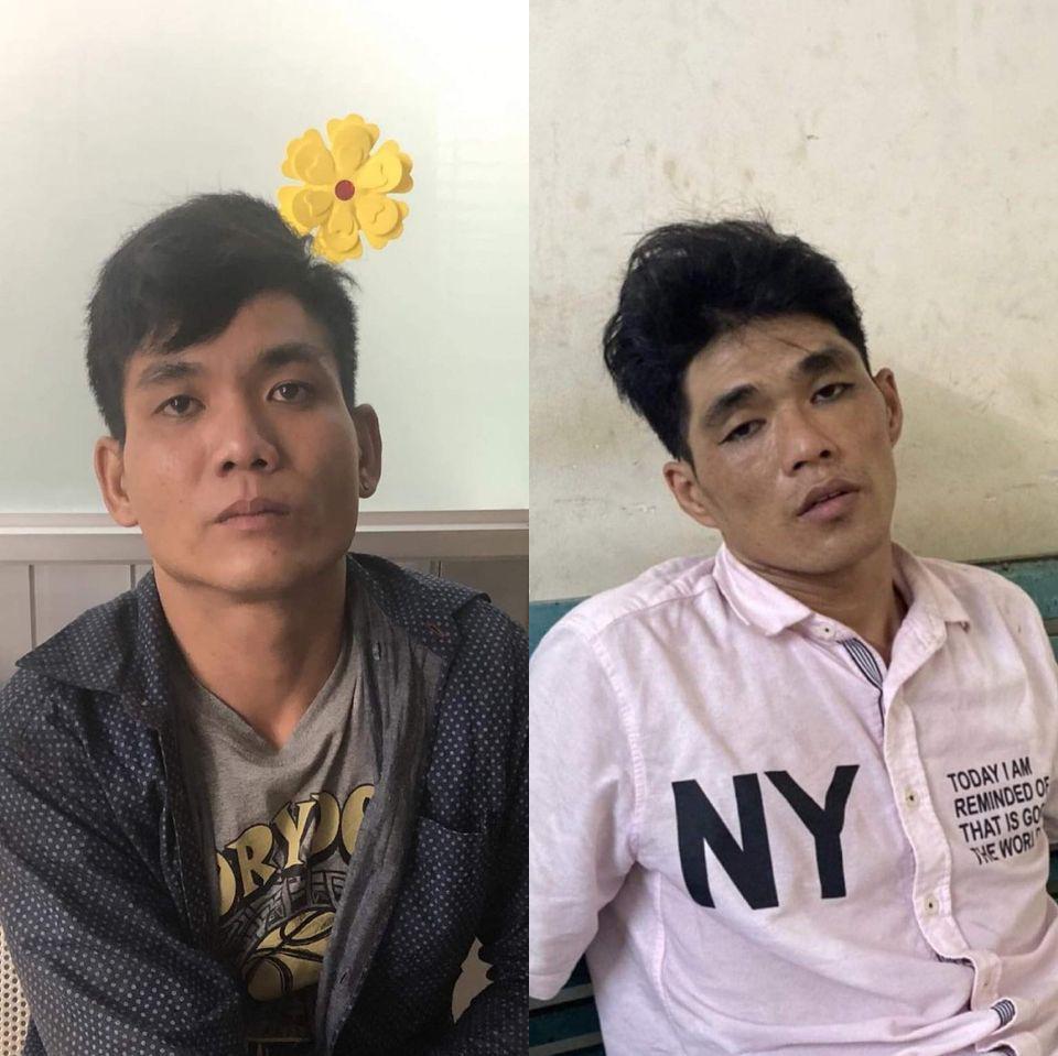 2 thanh niên tông vào xe máy 2 cô gái rồi kề dao, bóp cổ cướp tài sản ở Sài Gòn-1