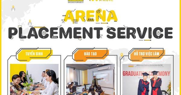 Arena Placement Service - Vũ trụ việc làm dành cho hàng nghìn sinh viên ngành thiết kế