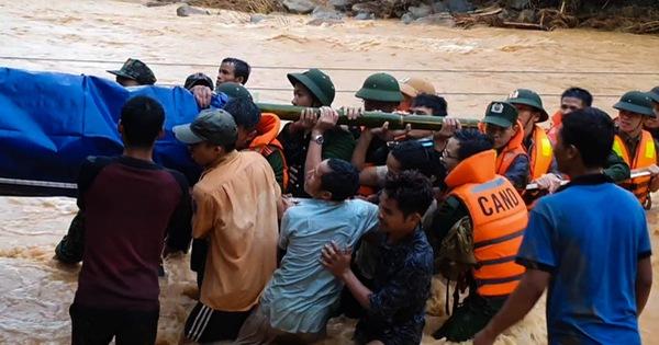 Băng rừng, vượt suối đưa thi thể Thượng úy công an tử nạn khi đi cứu dân về nhà