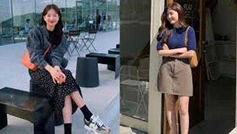 Ghim 5 công thức mix váy + giày này, style của các nàng sẽ