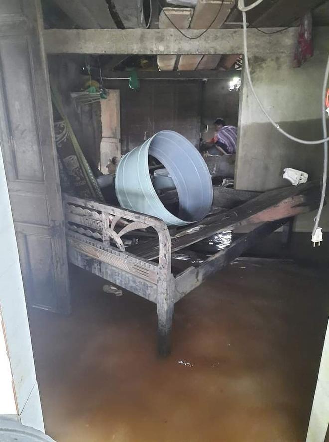 Khung cảnh nhà cửa tan hoang sau trận đại hồng thuỷ ở Quảng Bình: Tài sản bị ngâm nước nhầy nhụa bùn đất, thóc mọc mầm, vật nuôi chết hàng loạt-19