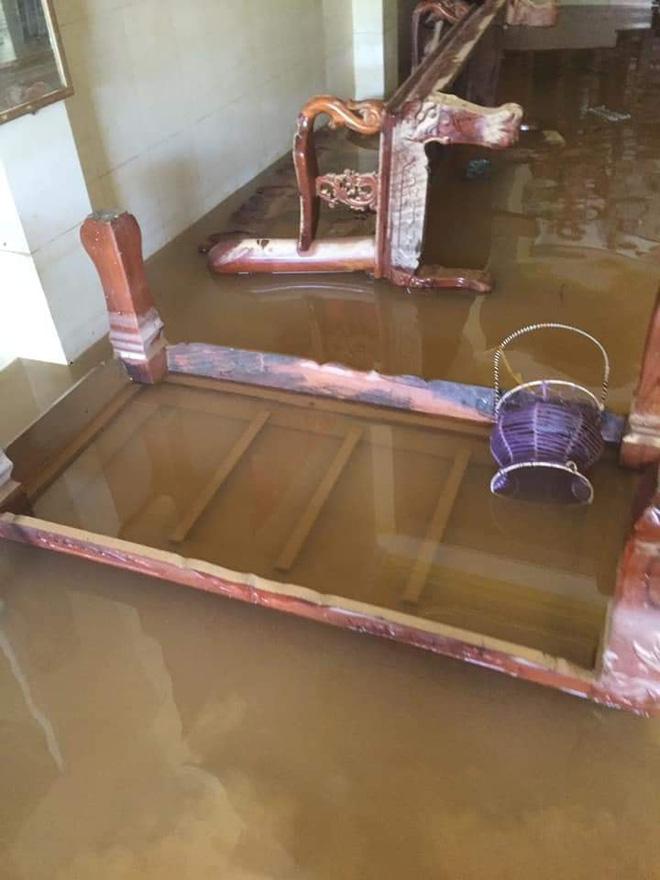 Khung cảnh nhà cửa tan hoang sau trận đại hồng thuỷ ở Quảng Bình: Tài sản bị ngâm nước nhầy nhụa bùn đất, thóc mọc mầm, vật nuôi chết hàng loạt-2