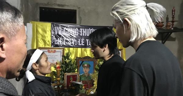 Trung Quân và Denis hoàn thành tâm nguyện cuối cùng của Lê Tuấn Anh - chiến sĩ hy sinh trong vụ sạt lở ở Quảng Trị
