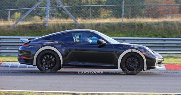 Porsche 911 'gầm cao' bí ẩn bất ngờ được bắt gặp chạy thử