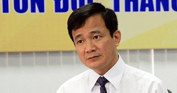 Ông Lê Vinh Danh bị cách chức Hiệu trưởng Trường Đại học Tôn Đức Thắng