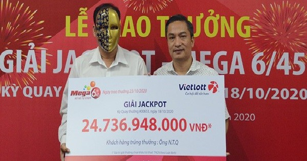 Chủ nhân Jackpot ủng hộ đồng bào miền Trung