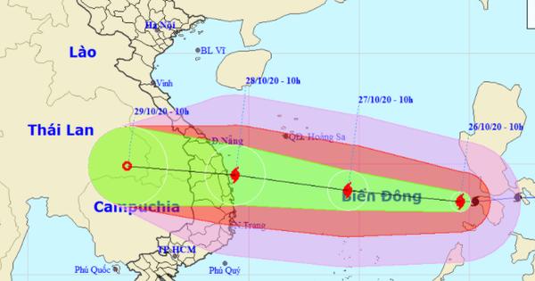 Quảng Nam cho học sinh nghỉ học ngày 27-28/10 để phòng tránh bão số 9
