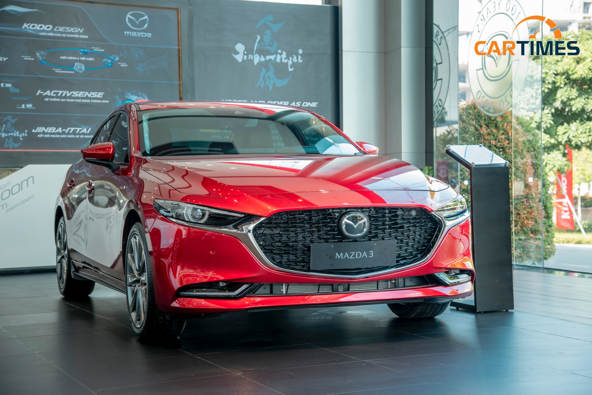 Mazda3 phiên bản đặc biệt vừa cập bến đại lý, chỉ có 40 chiếc được sản xuất