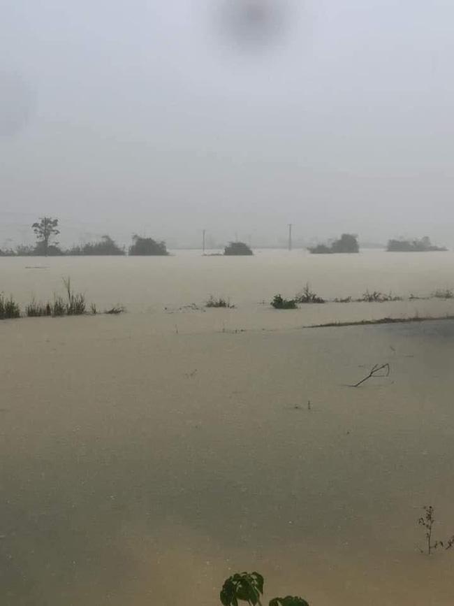 Mưa lớn không dứt, người dân Nghệ An trắng đêm chạy lũ, lên mạng cầu cứu, sáng ra nước đã ngập gần tới nóc nhà-1