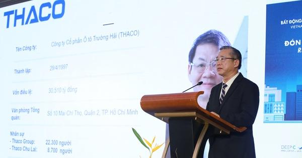 """CEO Thaco: """"Cần phát triển BĐS công nghiệp theo mô hình khu công nghiệp chuyên ngành để hút NĐT"""""""