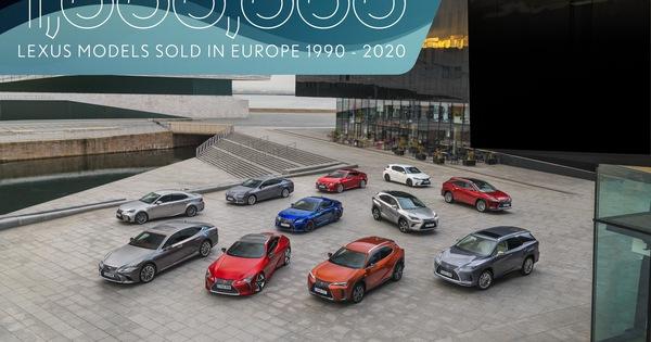 Lexus bán 1 triệu xe tại châu Âu sau… 30 năm, công lớn nhờ dòng tên này
