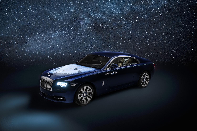 Rolls-Royce Wraith hàng độc được tuỳ biến lấy ý tưởng từ hệ Mặt Trời