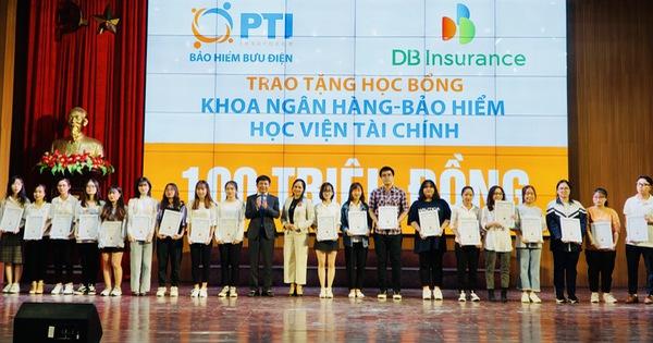 PTI trao tặng học bổng trị giá 100 triệu cho sinh viên Học viện tài chính