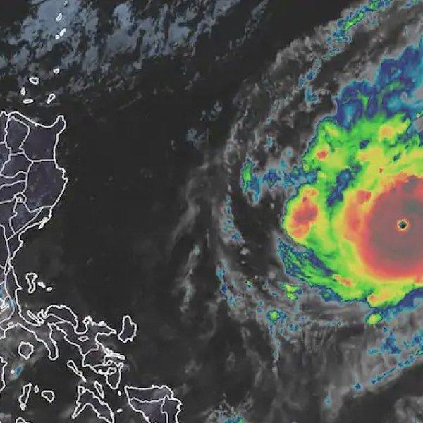 Dự báo đường đi của siêu bão Goni trên biển Đông