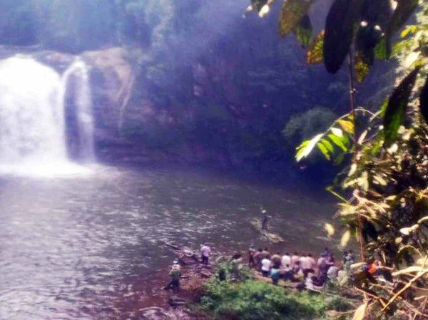 Lâm Đồng: Nỗ lực tìm kiếm người đàn ông mất tích tại thác bảy tầng