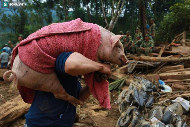 Những thứ còn sót lại dưới đống hoang tàn ở vụ sạt lở Trà Leng sau 48 giờ tìm kiếm-16