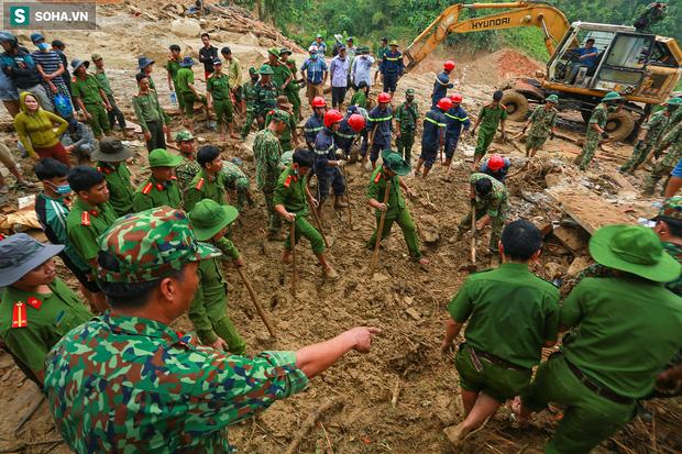 Những thứ còn sót lại dưới đống hoang tàn ở vụ sạt lở Trà Leng sau 48 giờ tìm kiếm-4