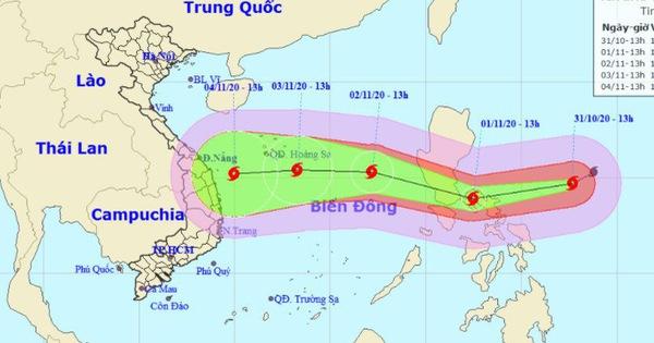 Tin bão gần biển Đông, siêu bão Goni