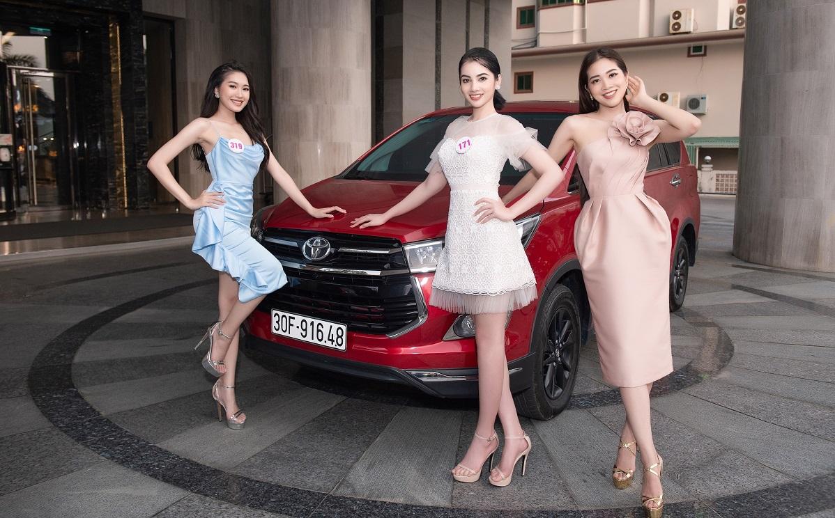 VCK Hoa hậu Việt Nam 2020 sẽ dùng xe Toyota vận chuyển thí sinh tham gia