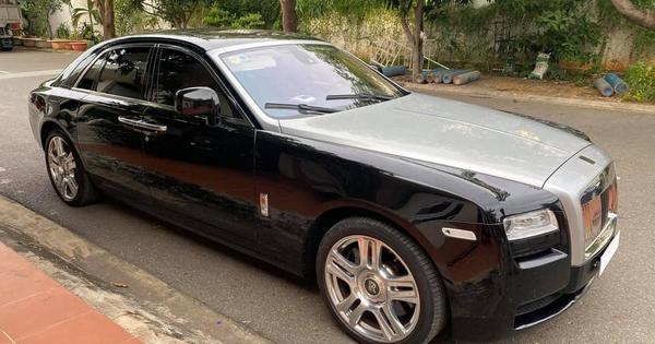 Sau 10 năm, Rolls-Royce Ghost bán lại giá chưa tới 9 tỷ đồng dù chỉ chạy 30.000km
