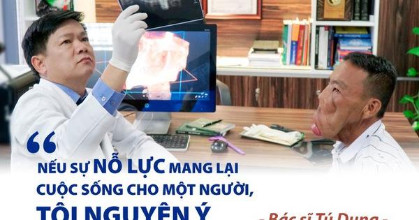 """Bác sĩ Tú Dung: """"Nếu sự nỗ lực mang lại cuộc sống cho một người, tôi nguyện ý"""""""