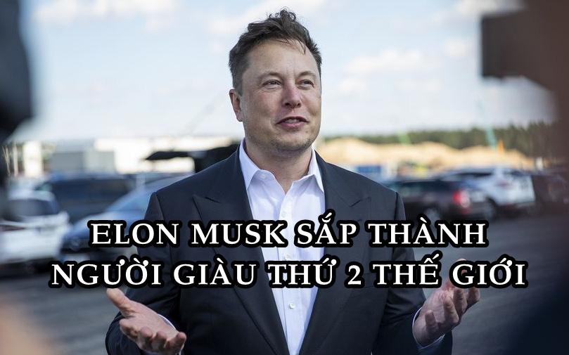 'Được đà lấn tới', Elon Musk sắp soán ngôi Bill Gates trở thành người giàu thứ 2 thế giới