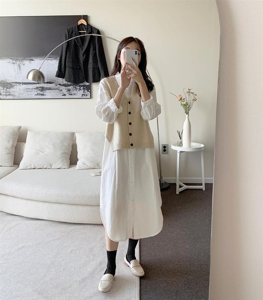 5 kiểu áo cứ khoác ngoài váy trắng là tạo nên set đồ xịn đẹp từ công sở ra phố-5