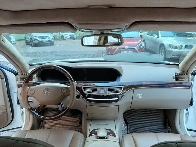 Độ kiểu Maybach, Mercedes-Benz S 550 cũ vẫn có giá rẻ hơn Toyota Corolla Altis cả chục triệu đồng-4