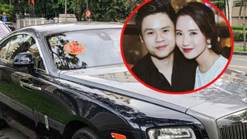 Loạt xe khủng đưa dâu trong đám hỏi Phan Thành, chú rể cầm lái Rolls-Royce Wraith 34 tỷ đồng