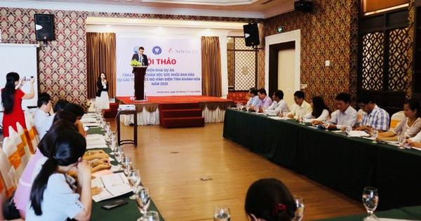 Novartis hỗ trợ y tế cho 10,000 người dân tỉnh Khánh Hòa