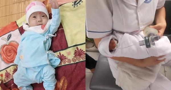 Hành trình kỳ diệu nuôi sống bé sinh non nhẹ cân nhất Việt Nam, từ 480gr lên 2,1kg