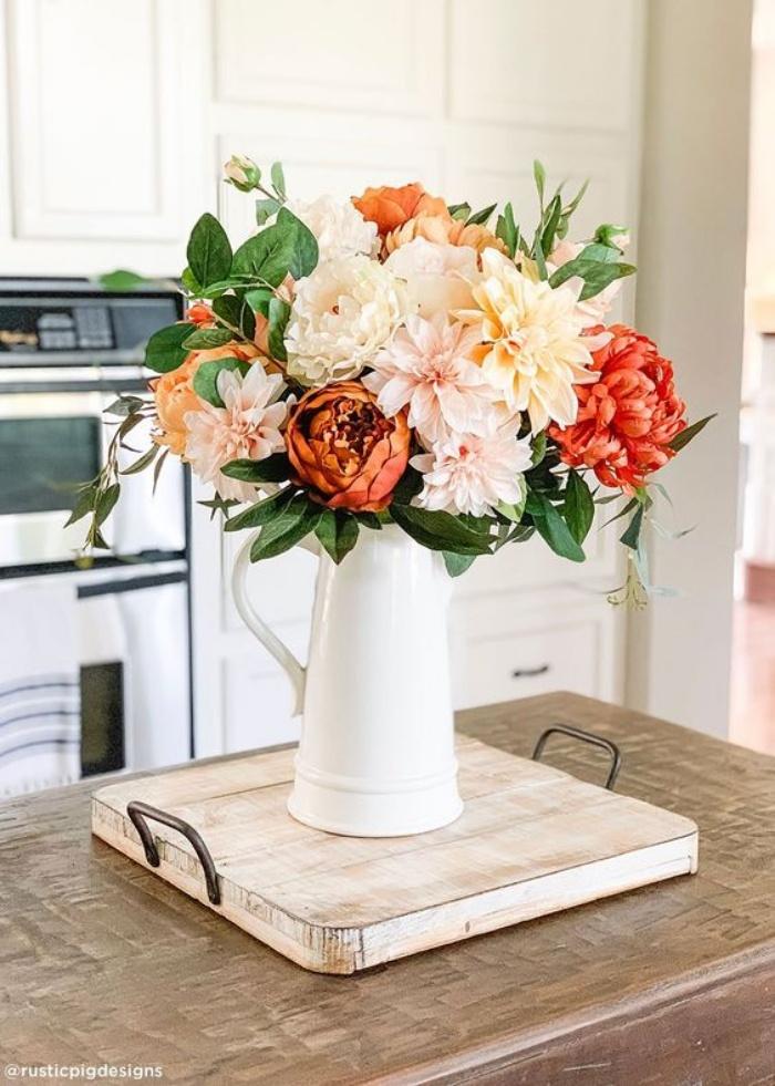 Muôn kiểu cắm hoa tạo nét đẹp tinh tế và lãng mạn bừng sáng trong không gian sống-1