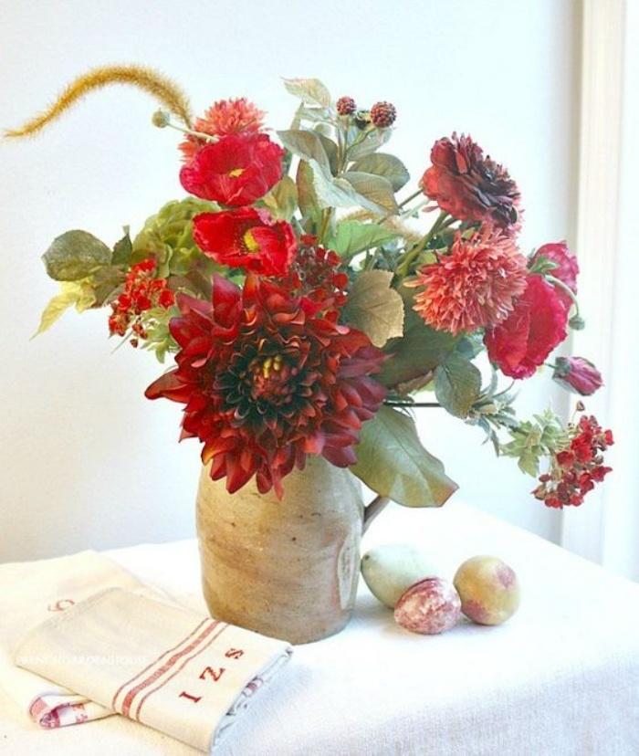 Muôn kiểu cắm hoa tạo nét đẹp tinh tế và lãng mạn bừng sáng trong không gian sống-8