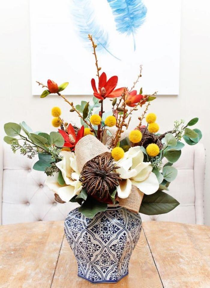 Muôn kiểu cắm hoa tạo nét đẹp tinh tế và lãng mạn bừng sáng trong không gian sống-13