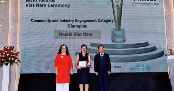 Nestlé Việt Nam vinh dự nhận 2 giải thưởng danh giá về trao quyền cho phụ nữ