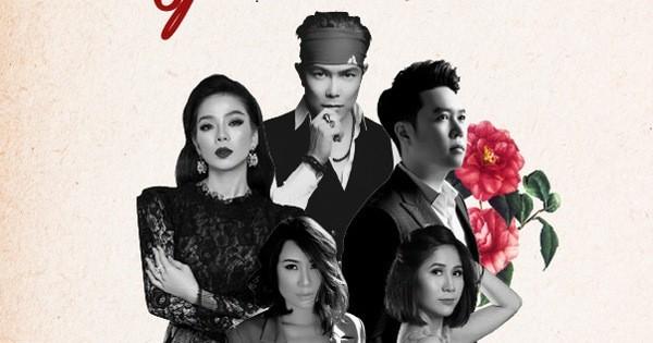 """Lệ Quyên góp giọng show """"Người tình"""" - Jimmii Nguyễn, Lê Hiếu"""
