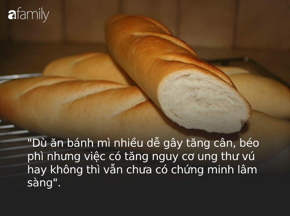 Giải mã tin đồn thói quen ăn sáng bằng bánh mì có thể gây ung thư vú: Nghe chuyên gia phân tích, bạn sẽ phải thay đổi thói quen sống gấp-2